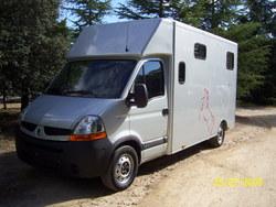 Camiones de caballos
